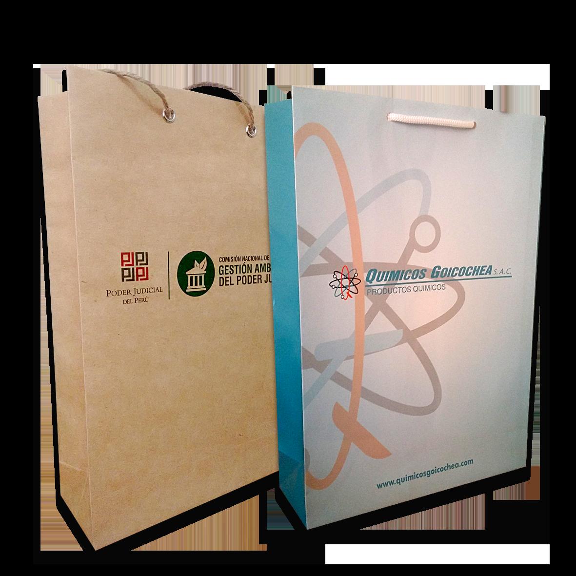 merchandising-articulos publicitarios - bolsas de papel - omnimedia publicidad