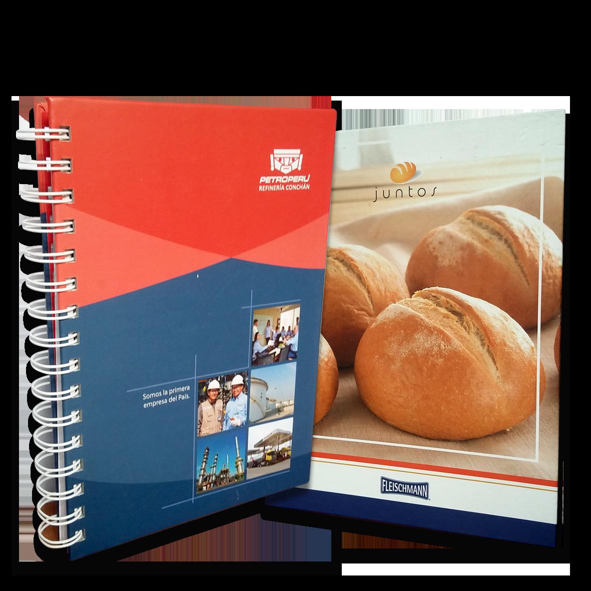 merchandising-articulos publicitarios - cuadernos- omnimedia publicidad